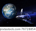 earth, globe, cosmic 76728854