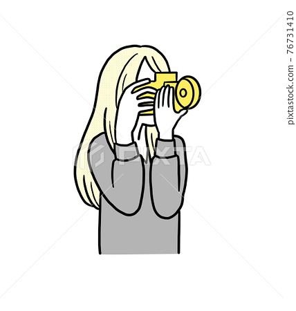 photocamera, female, females 76731410