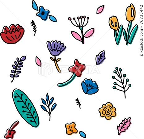 꽃, 플라워, 식물 76733442