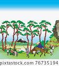 fuji mountain, fuji-san, fujisan 76735194