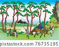 fuji mountain, fuji-san, fujisan 76735195
