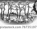 fuji mountain, fuji-san, fujisan 76735197