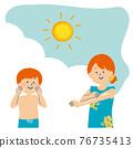 防曬油 防曬霜 兒童 76735413