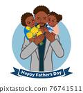 父親節 父母和小孩 親子 76741511
