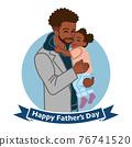 父親節 父母和小孩 親子 76741520