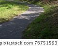 공원의 산책로 76751593