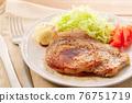 豬肉牛排 76751719