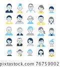person, illustration, icon 76759002