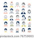 person, illustration, icon 76759003