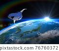 earth, globe, cosmic 76760372