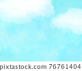 blue sky, cloud, clouds 76761404