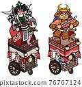 festival, gala, portable shrine 76767124