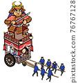 festival, gala, portable shrine 76767128