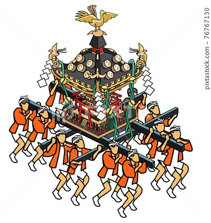 festival, gala, portable shrine 76767130