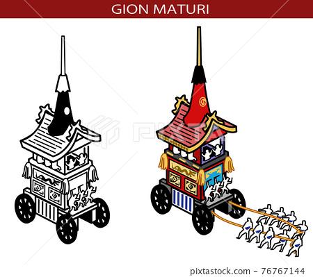 festival, gala, portable shrine 76767144