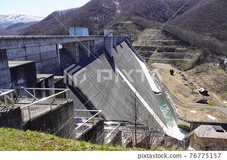 dam, concrete gravity dam, otaru 76775157
