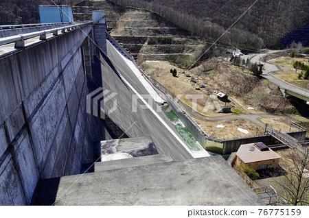 dam, concrete gravity dam, otaru 76775159