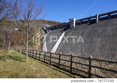 dam, concrete gravity dam, otaru 76775160