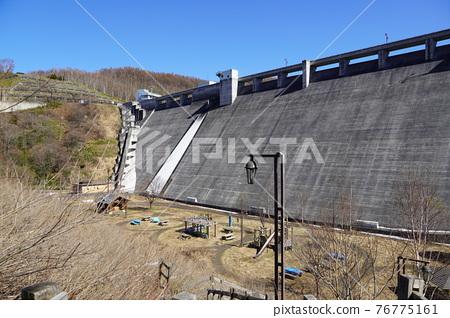 dam, concrete gravity dam, otaru 76775161