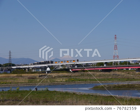 tamagawa, mountain fuji, mt fuji 76782559