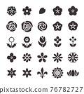 icon, icons, flower 76782727