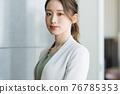 Working woman portrait 76785353