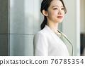 Working woman portrait 76785354