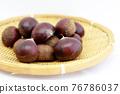 chestnut, chestnuts, japanese chestnut 76786037