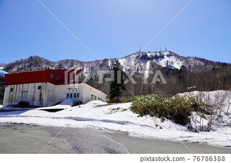 sapporo, fallen snow, snow scene 76786388