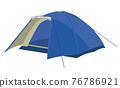帳篷 營地 露營 76786921