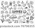 手繪夏季材料套裝 76796355