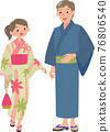 lifestyle, yukata, summer 76806540