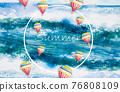 Abstract backgrounds, summer concept. 76808109