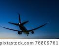 大阪府豐中市機場風光,起降飛機 76809761