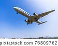 大阪府豐中市機場風光,起降飛機 76809762