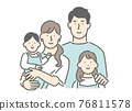 family, grinning, smiling 76811578