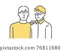 couple, heterosexual couple, family 76811680