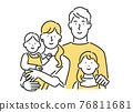 family, grinning, smiling 76811681
