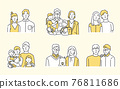 family, household, grinning 76811686