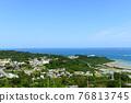 Okinawa, blue water, marine 76813745