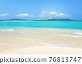 A beautiful sea of Okinawa 76813747