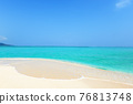 A beautiful sea of Okinawa 76813748