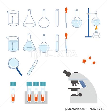 experiment, scientific experiment, vector 76821717