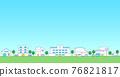 城市風光 城市景觀 市容 76821817
