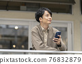 male, man, smartphone 76832879