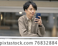 male, man, smartphone 76832884