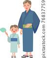 lifestyle, yukata, summer 76837759