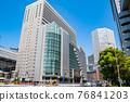 오사카 역 주변의 빌딩 76841203