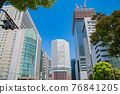 오사카 역 주변의 빌딩 76841205