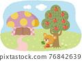 動物 熊 漂亮 76842639